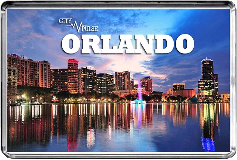 USA E359 ORLANDO FLORIDA FRIDGE MAGNET TRAVEL PHOTO REFRIGERATOR MAGNET