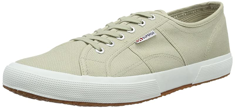 Superga 2750 Cotu Classic Sneakers Low-Top Unisex Damen Herren Beige
