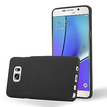 Cadorabo Funda para Samsung Galaxy Note 5 en Frost Negro ...