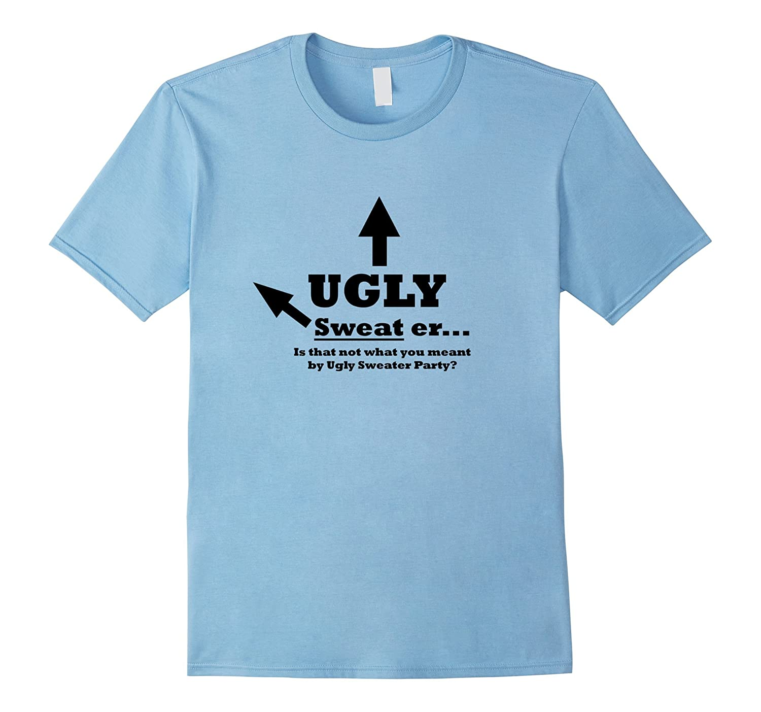 Ugly Sweater Christmas Party Tshirt-ANZ