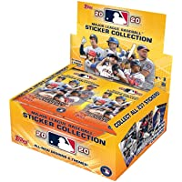 $42 » 2020 Topps MLB Baseball Sticker Collection box (50 pks/bx, 200 total stickers)