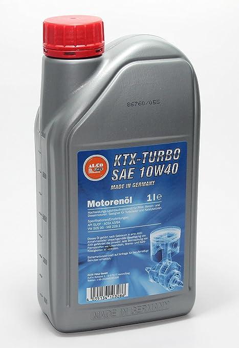 Alco - Ktx-2 de Turbo SAE 10 w40 - 1 x 1 litro Aceite ...