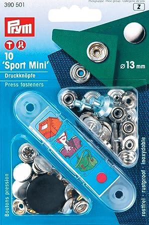 PRYM Sport  Camping Mini Druckknöpfe schwarz 13mm