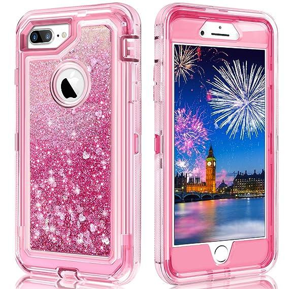 iphone 8 plus hard case pink