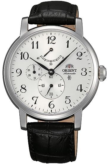 Orient Reloj Analógico para Hombre de Automático con Correa en Cuero FEZ09005W0