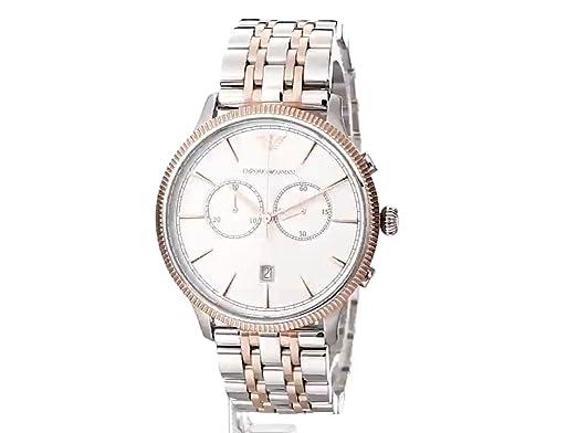 Amazon.com: Emporio Armani Mens AR1826 Dress Two Tone Watch: Emporio Armani: Watches