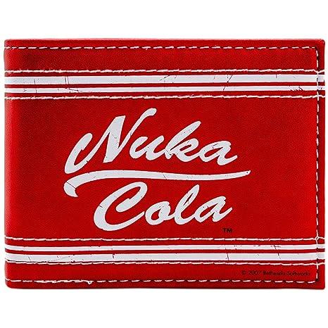 Cartera de Bethesda Fallout 4 Nuka Cola rojo: Amazon.es ...