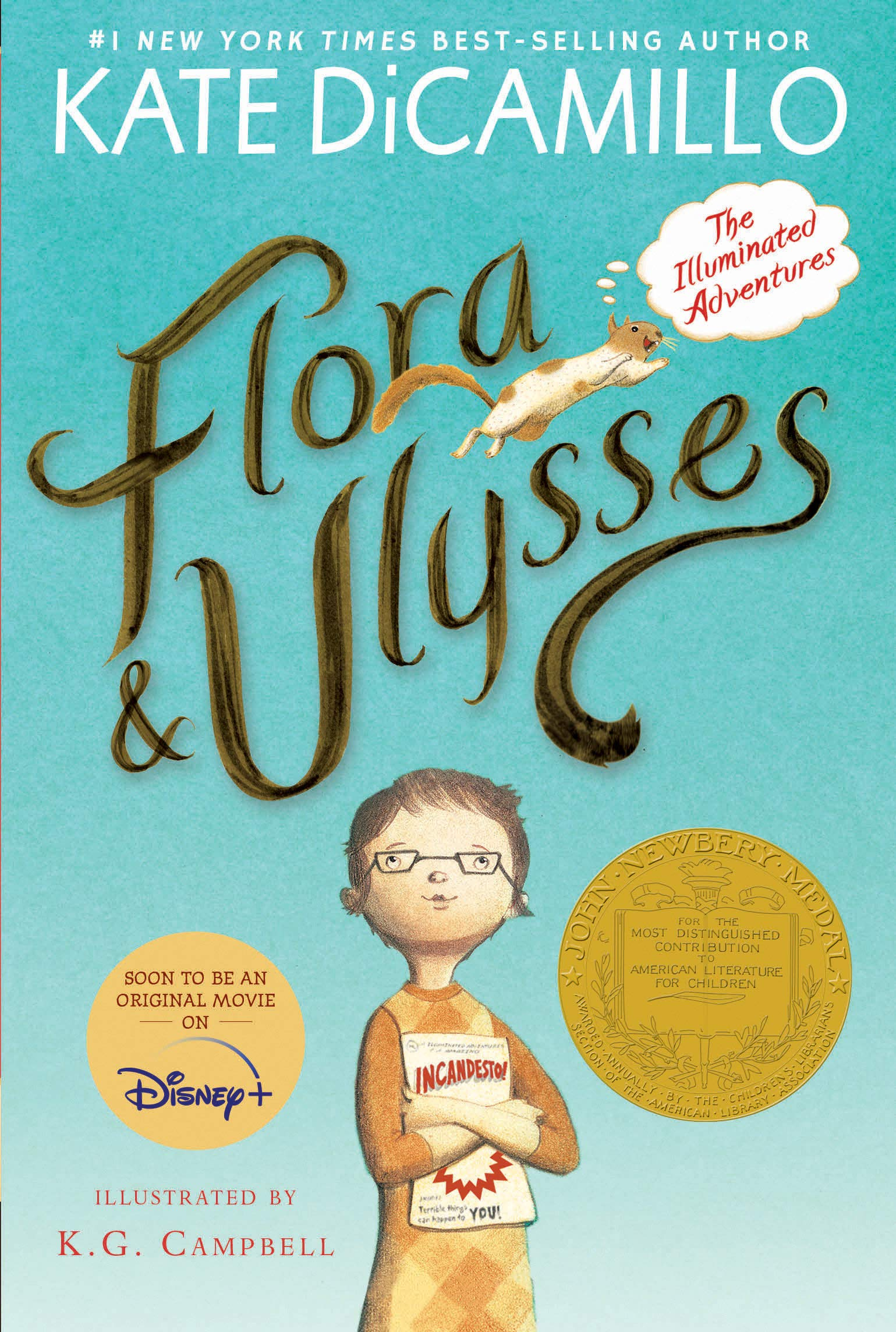 Flora and Ulysses: The Illuminated Adventures: DiCamillo, Kate, Campbell, K. G.: 9780763687649: Amazon.com: Books