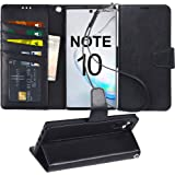 Arae Wallet Case for Samsung Galaxy Note 10 / Note 10 5G PU Leather flip case Cover [Stand Feature] with Wrist Strap and…