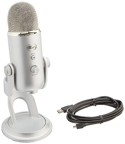 3 opinioni per Blue Microphones Yeti Studio, Sistema Professionale di Registrazione Voci,