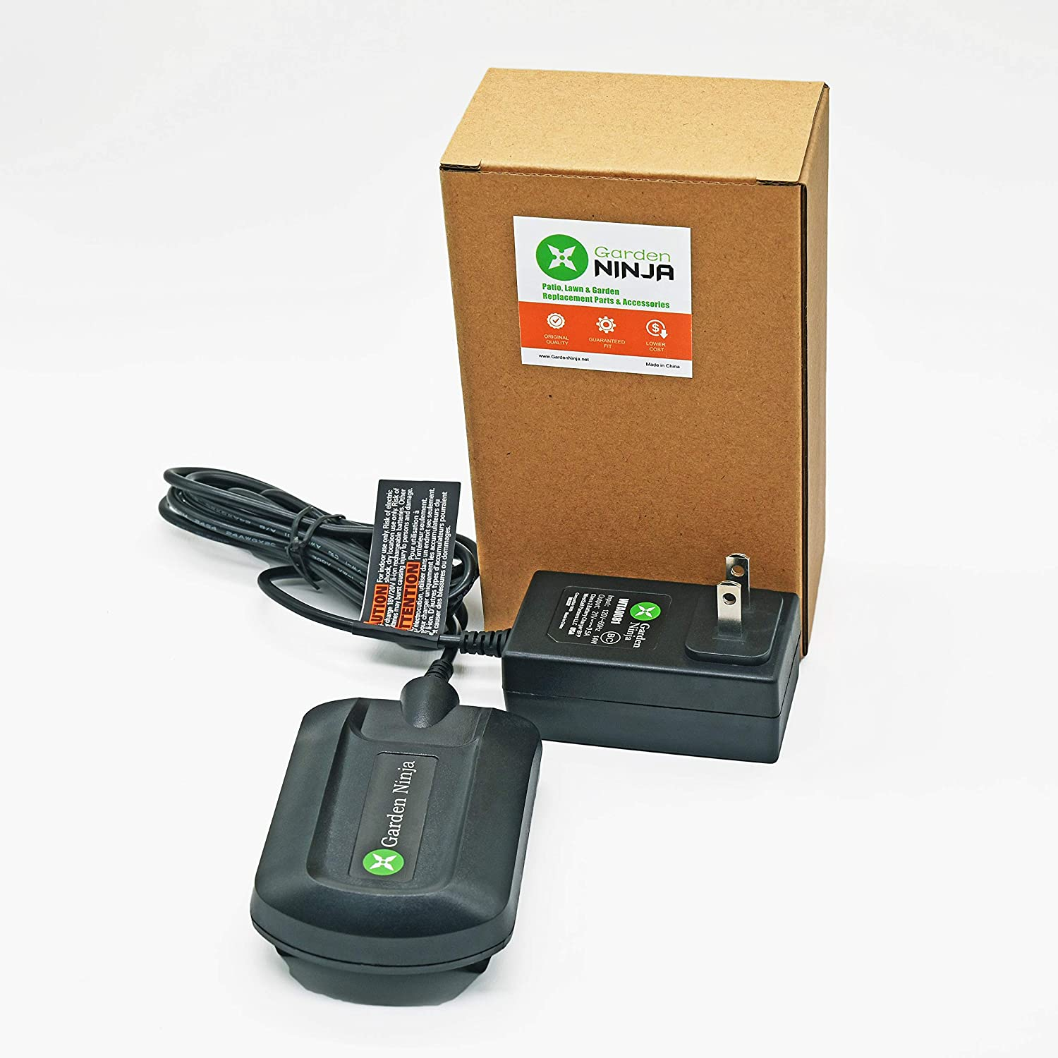 Garden NINJA Charger for Worx 18V and 20V Lithium Ion Batteries WA3520 and WA3525, Compatible with Charger WA3732