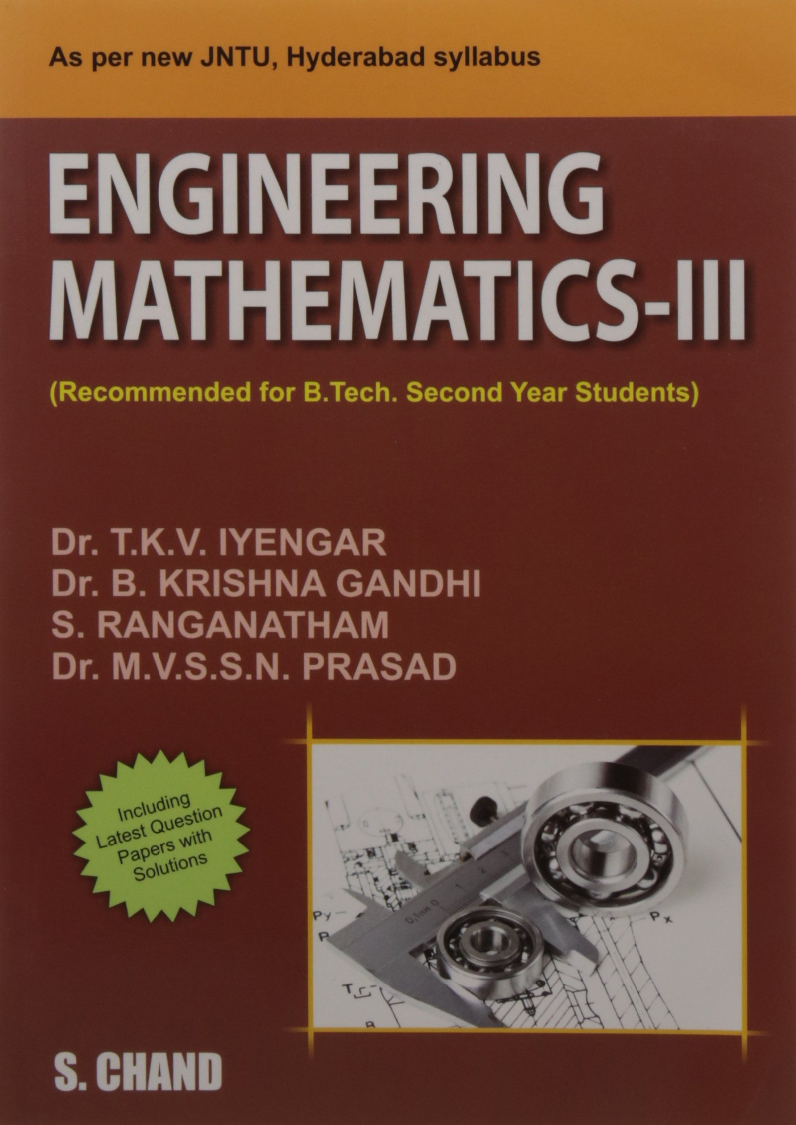 Engineering Mathematics III (JNTU) Hyderabad: 9789385401985