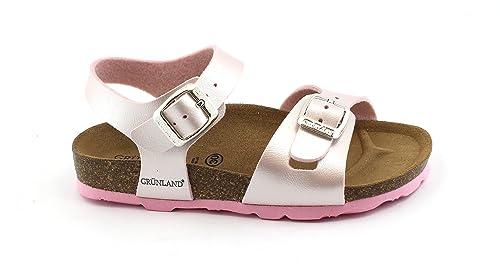 nuovo di zecca 425b9 f6412 Grunland Light SB0646 30/31 Pink Sandals Girl Buckles ...