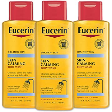 Calming Body Wash Daily Shower Oil by Eucerin for Unisex - 8.4 oz Body Wash