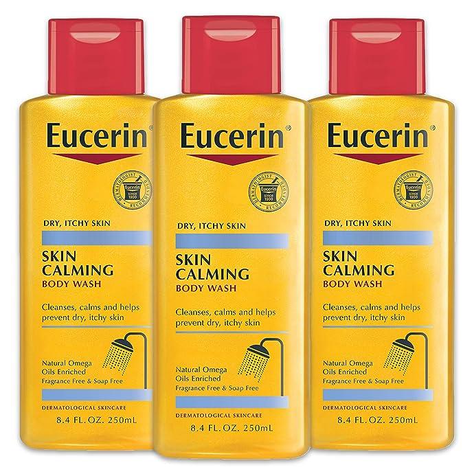 Eucerin 优色林 保湿止痒沐浴油 250ml*3瓶 ¥139