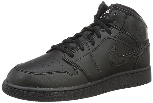 cc521582d72 Air Jordan 1 Mid Big Kids Style : 554725: Jordan: Amazon.ca: Shoes ...