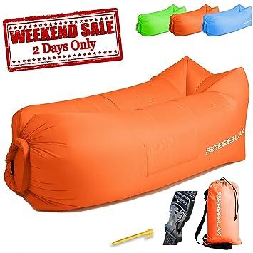 Amazon.com: Tumbona hinchable – Sofá sillón de aire sofá ...