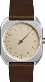 slow Mo 08 - Swiss Made one-hand 24 hour watch -