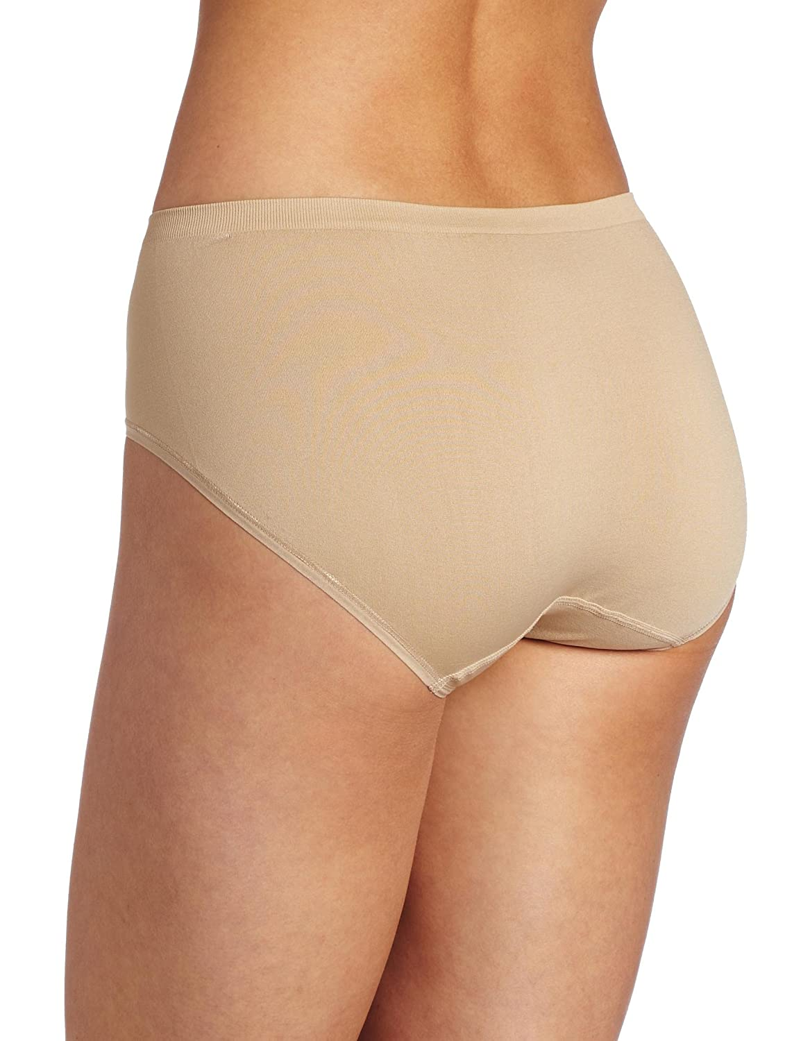 24385b374f30 Vanity Fair Women's Seamless Hipster Panty 18210 - Damask Neutral - 5 at  Amazon Women's Clothing store: