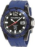 Haurex Italy Herren-Armbanduhr XL Caimano Analog Kautschuk N1354UNB