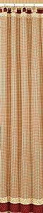 "Park Designs Apple Jack Shower Curtain, 72 by 72"""