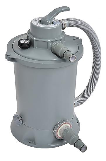 Depuratore Per Piscina.Jilong Accessori Filtro A Sabbia Per Piscina 3000 Litri H Grigio 30x30x35 Cm