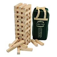 Giant Ultimate XL! Tumble Tower - Superior 5ft Size for adults - Build to over 5 FEET tall during play!-Jaques Of London
