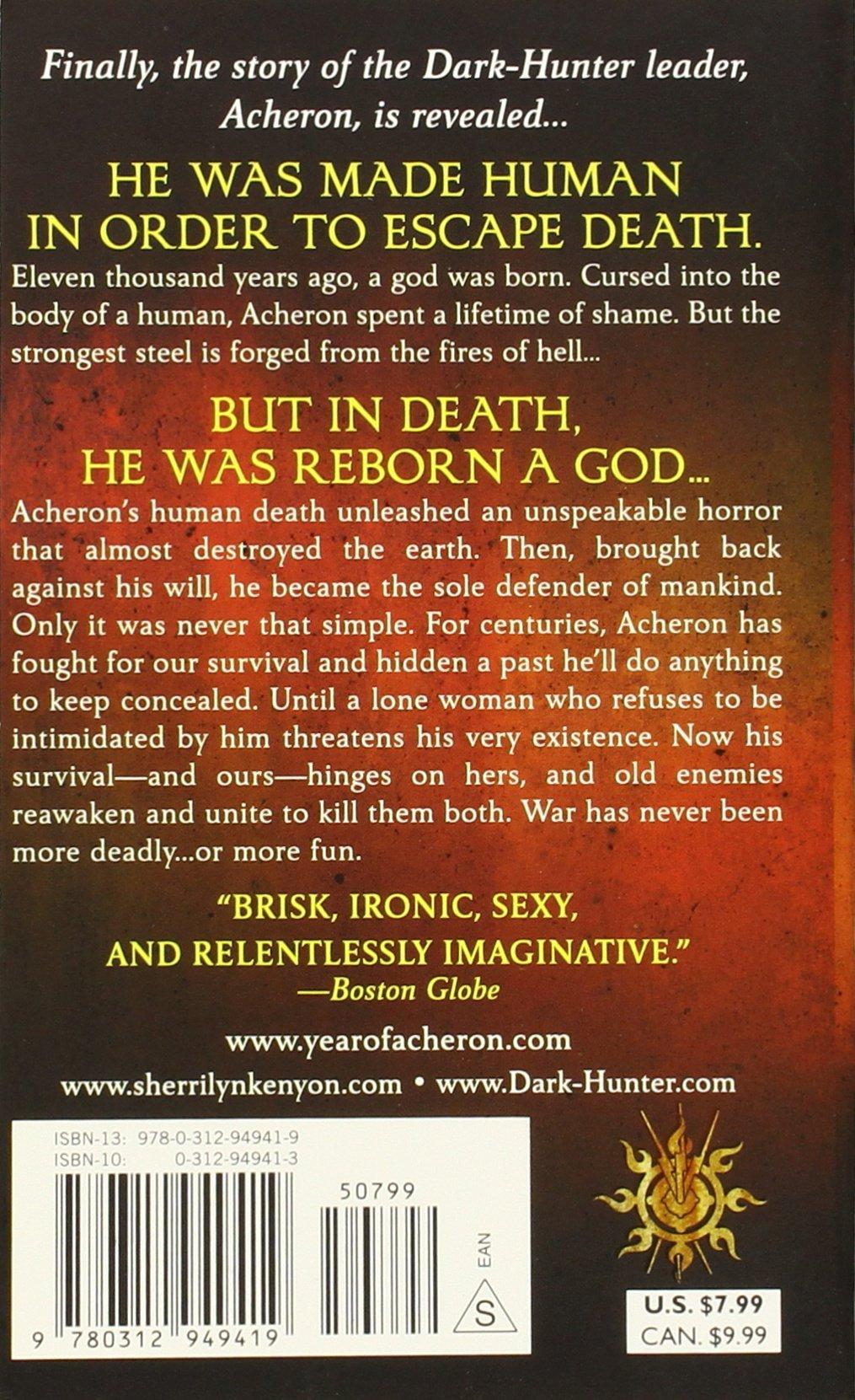 Acheron (darkhunter, Book 12): Sherrilyn Kenyon: 9780312949419:  Amazon: Books