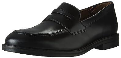 24bd48c040e Bostonian Men s Mckewen Step Penny Loafer Black Leather 9.5 Medium US