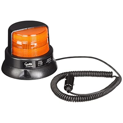 Grote 77203 Yellow Economy Material Handling Strobe: Automotive