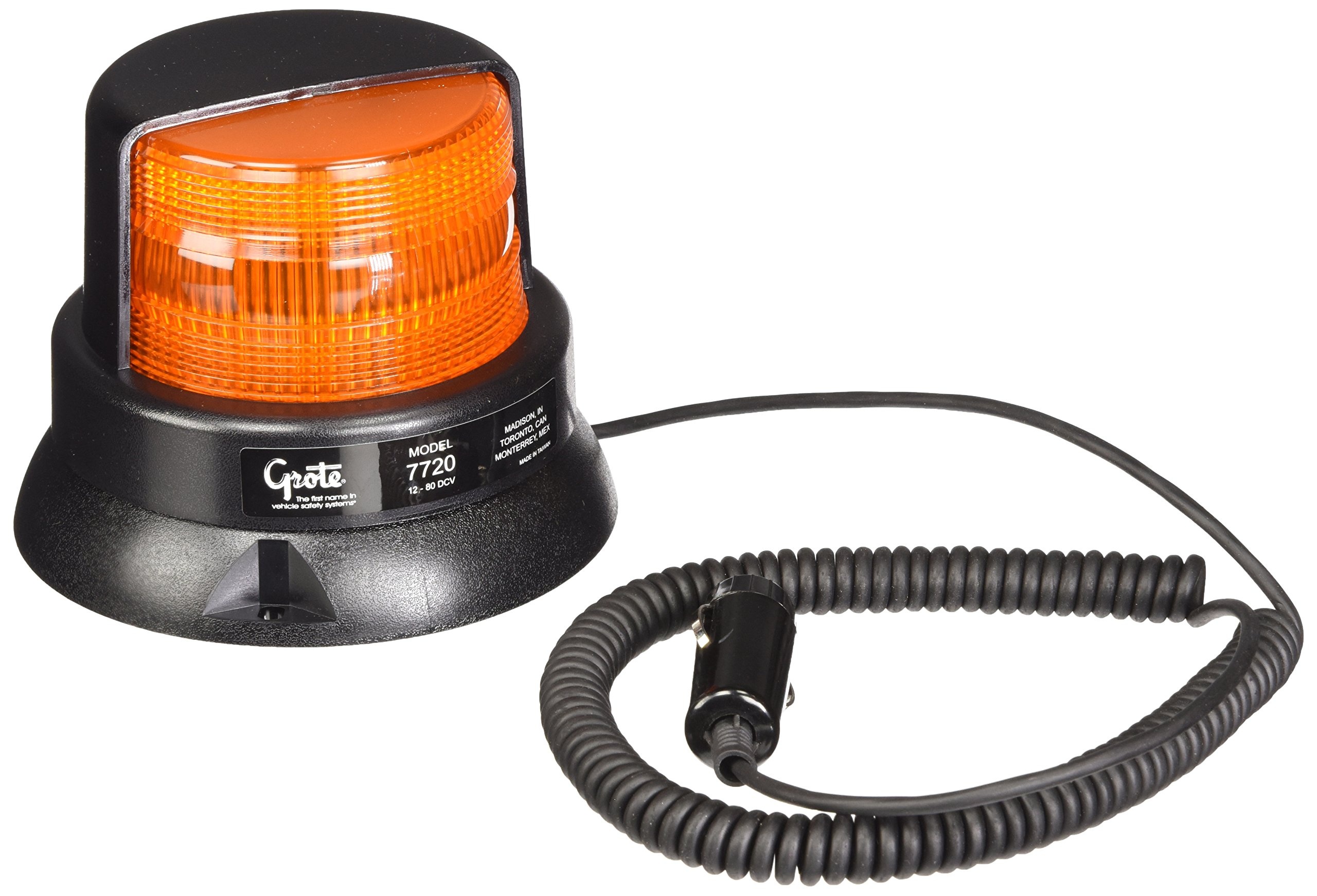 Grote 77203 Yellow Economy Material Handling Strobe