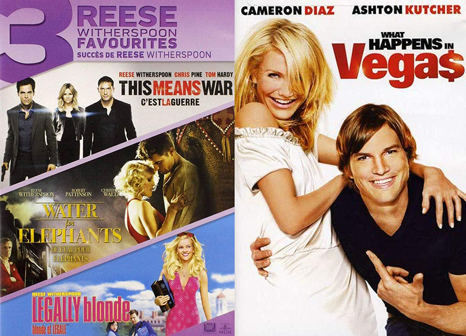 Amazon Com Here S Reese Cameron Fun Movies 4 Pack What Happens