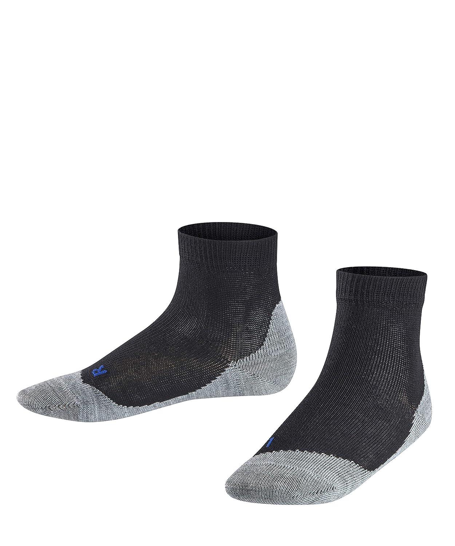FALKE Kids Active Sunny Days sneaker socks - 1  pair, UK sizes 6 (kid) - 8 (EU 23-42), multiple colours, cotton mix - Breathable, regulates moisture, ideal for summer