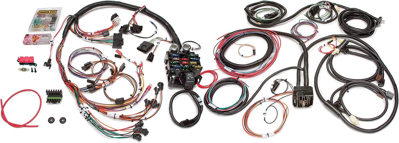 cj7 dash wiring diagram amazon com painless performance 10150 direct fit jeep cj harness  10150 direct fit jeep cj harness