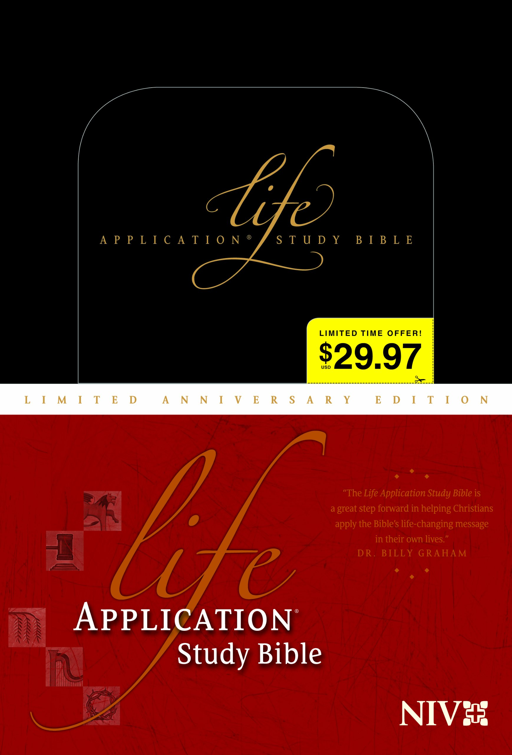 Read Online Life Application Study Bible NIV, Limited Anniversary Edition pdf