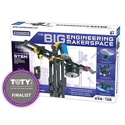 Thames & Kosmos The Big Engineering Makerspace Science Experiment Kit: Toys & Games