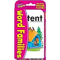 TREND enterprises, Inc. Word Families Pocket Flash Cards