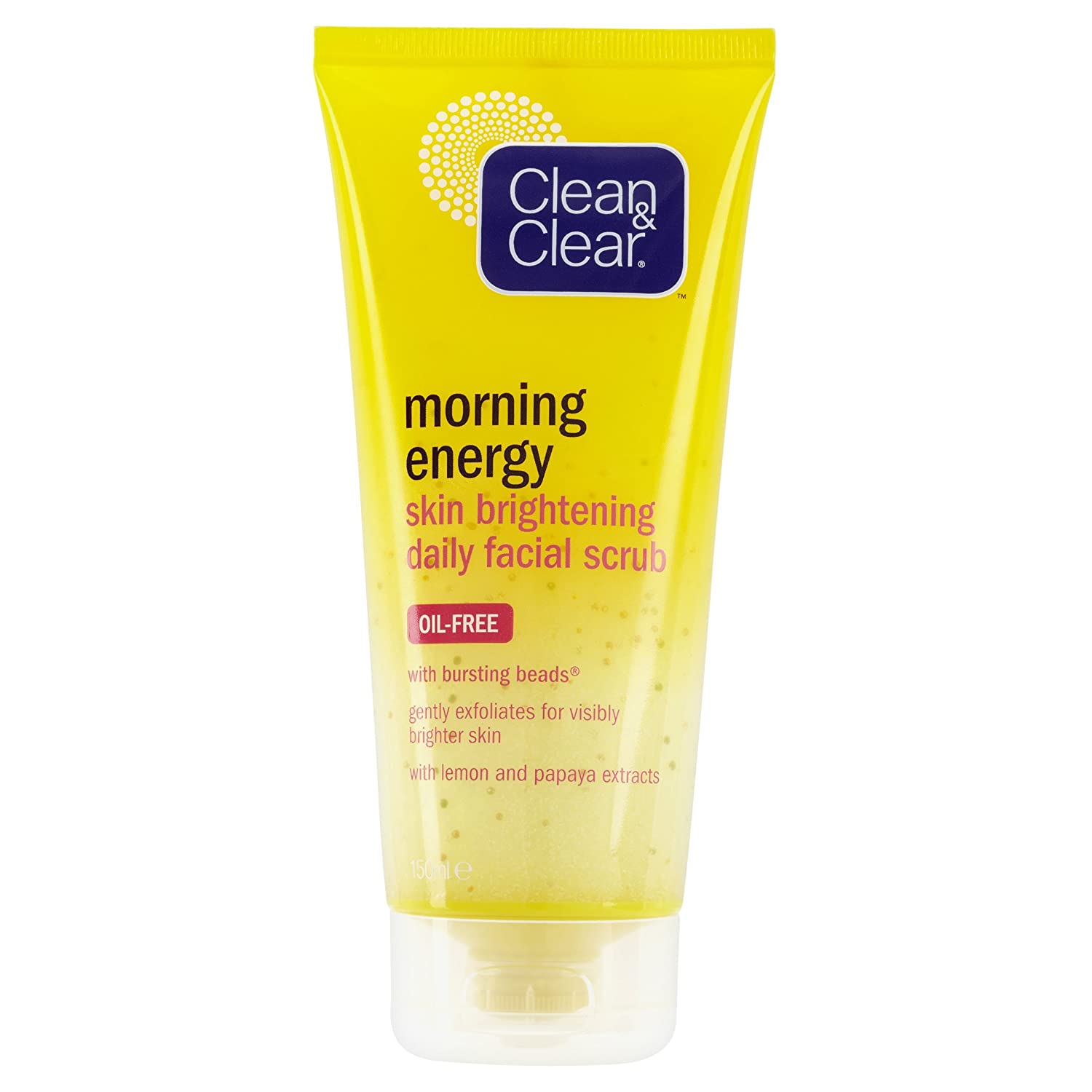 Clean & Clear Morning Energy Skin Brightening Daily Facial Scrub 150 ml Johnson and Johnson 7282801