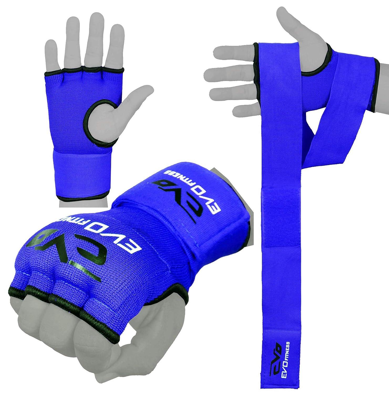 Geschäft neuer Lebensstil Sonderrabatt EVO Fitness Elastisch Gel Innen Handschuhe Boxen Bag Handschützer MMA  Ringen UFC