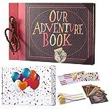 TEOYALL Our Adventure Book Scrapbook Photo Album