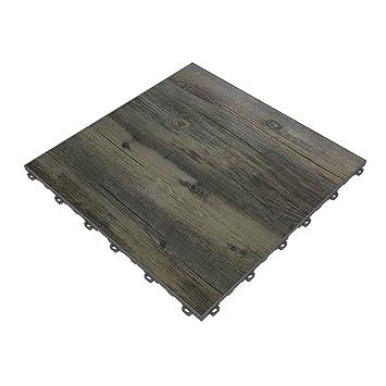 Swisstrax Reclaimed Pine Vinyltrax Garage Floor Tile 1575quot