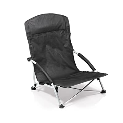 ONIVA - a Picnic Time Brand Tranquility Portable Folding Beach Chair, Black : Camping Chairs : Sports & Outdoors