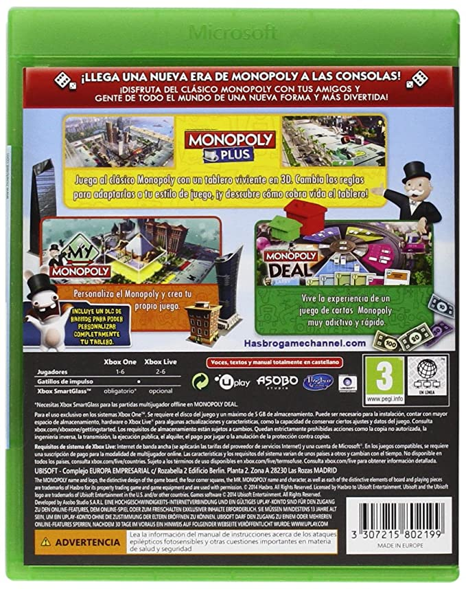 Hasbro Monopoly: playstation 4: Amazon.es: Videojuegos