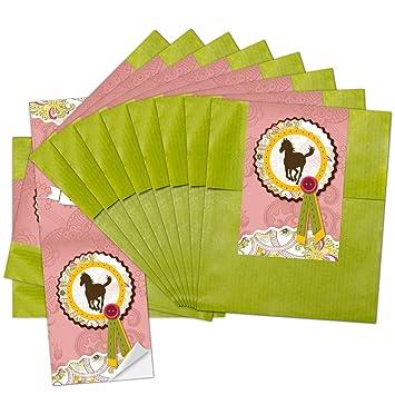 25 pequeñas verdes bolsas de papel Bolsas de regalo del ...
