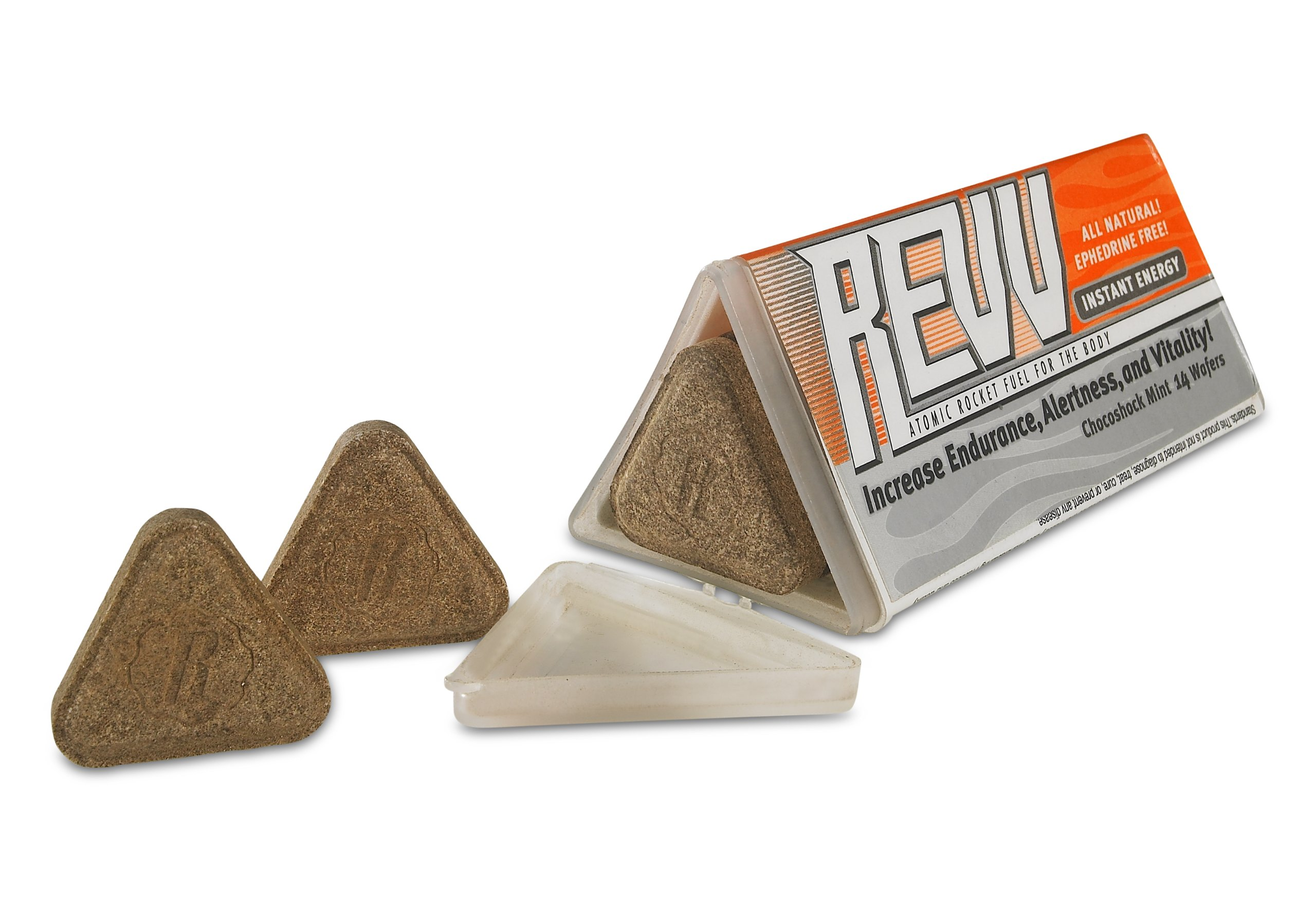 REVV Instant Energy - Good For You Natural Energy Booster - 1 Month Supply