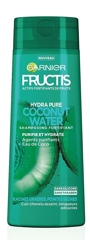 Champú fortificante Garnier Fructis Hydra Pure, agua de coco, 250 ml: Amazon.es: Belleza
