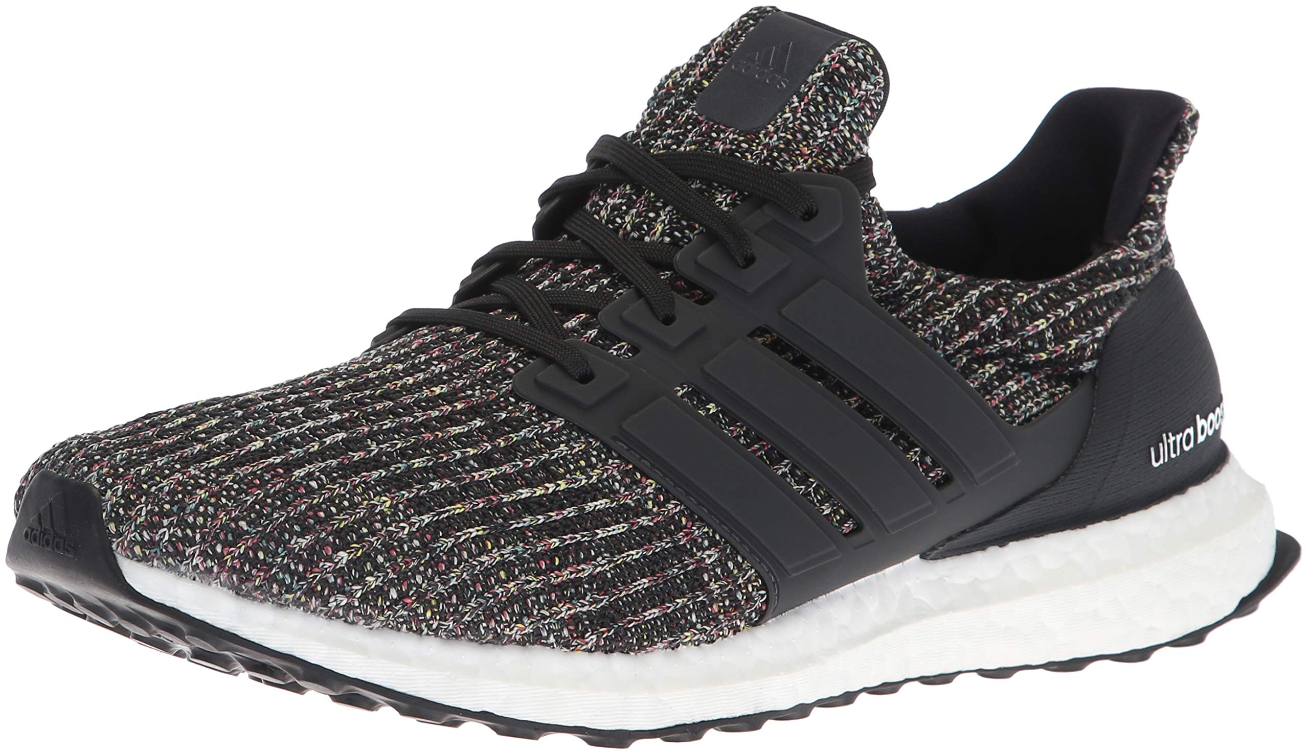 adidas Men's Ultraboost Running Shoe Black/Carbon/ash Silver 11 M US