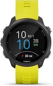 Garmin Forerunner 245 GPS Running Smartwatch, Amp Yellow