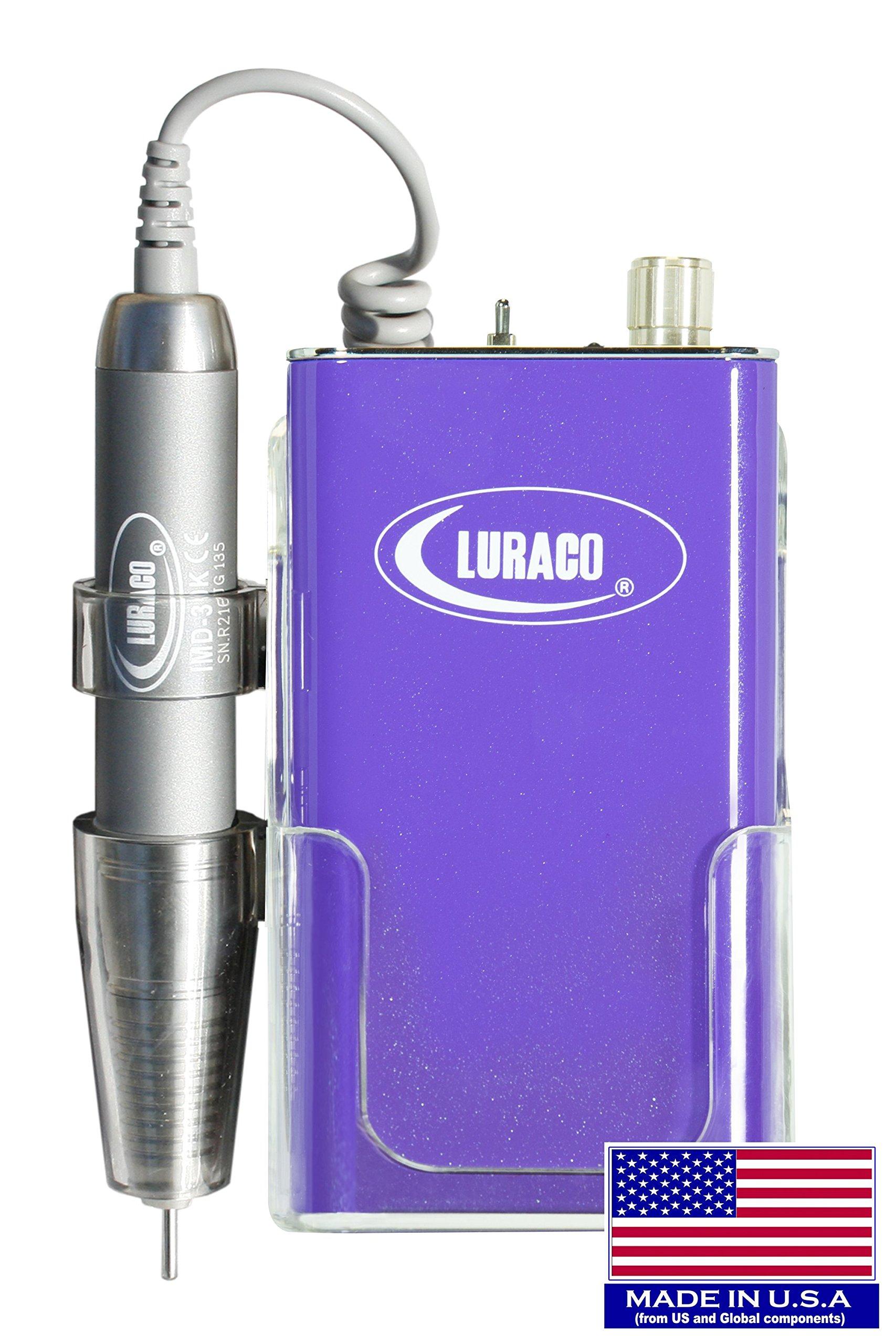 Luraco Pro-30K Electric Nail File (Drill)-Purple