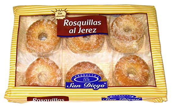 Productos San Diego Rosquillas al Jerez - Paquete de 12 x ...